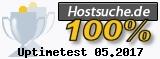 Hostsuche.de Uptime-Statistik